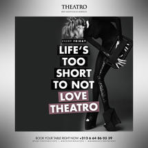 Life's Too Short To Not LOVE THEATRO